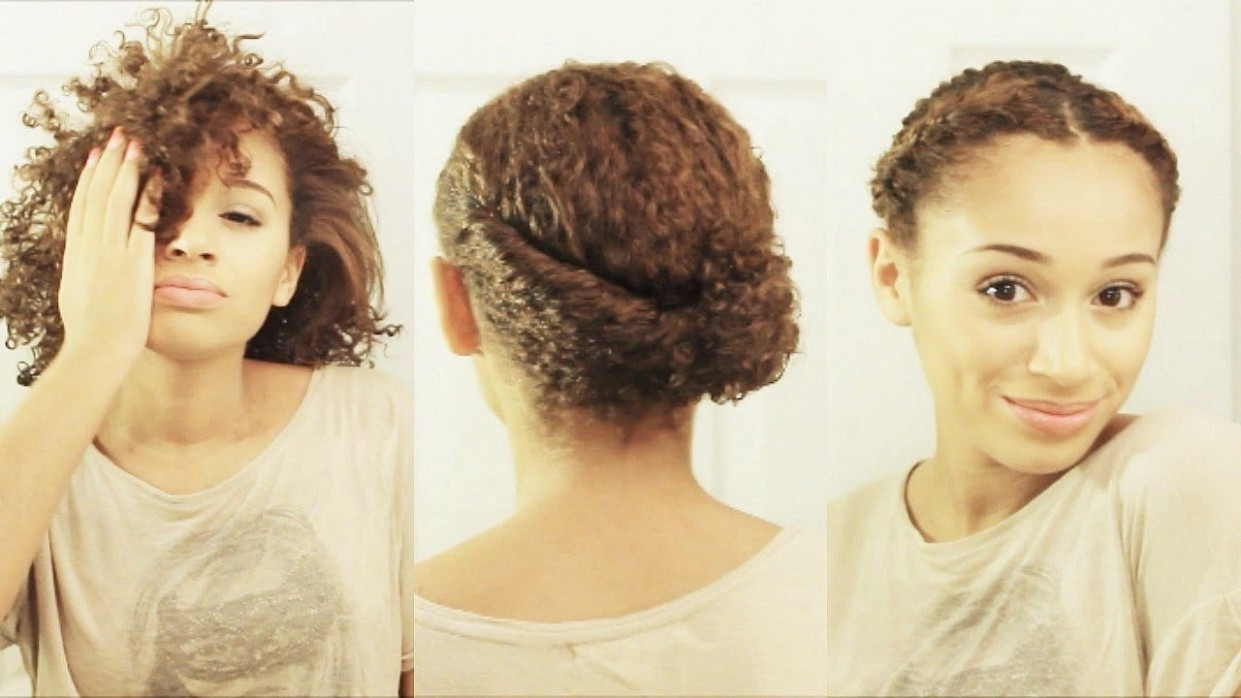 12 Hairstyles For SHORT Curly Hair Easy Hairstyles For Short Curly Hair