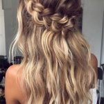 12 Half Up Half Down Wedding Hairstyles You Have To Keep For Your Half Up Half Down Medium Length Hair