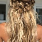 12 Half Up Half Down Wedding Hairstyles You Have To Keep For Your Prom Hairstyles For Medium Hair Down