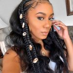 12 Jaw Dropping Braided Hairstyles To Try In 12 Hair Adviser Half Braids Half Curls