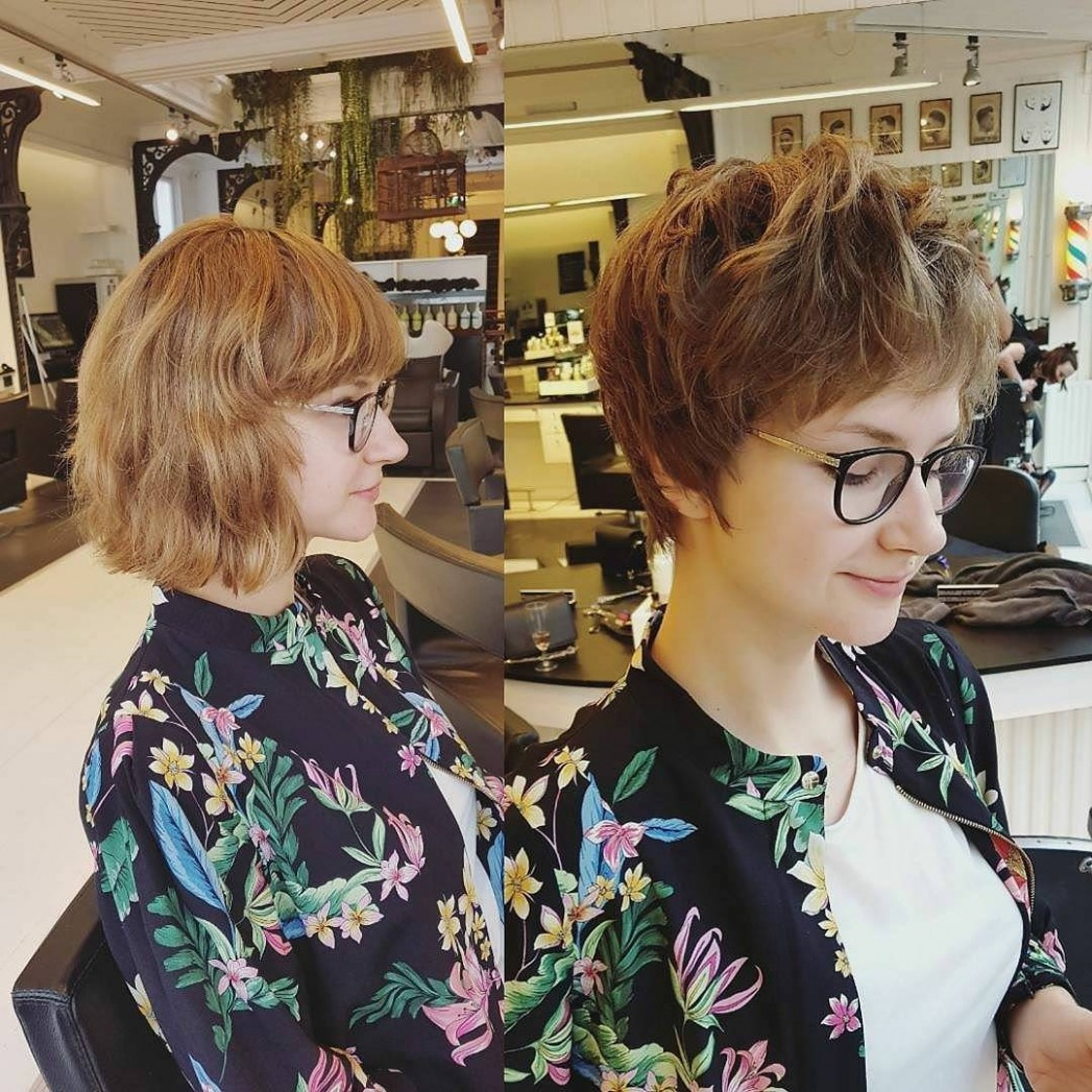12 Long Pixie Haircuts For Women Wanting A Fresh Image, Short Hair Pixie Cut With Glasses
