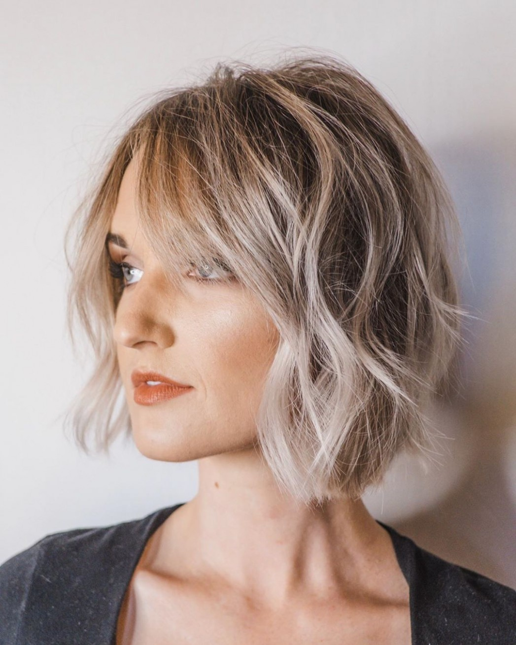 12 Manageable Trendy Bob Haircuts for Women - Short Hairstyle 12