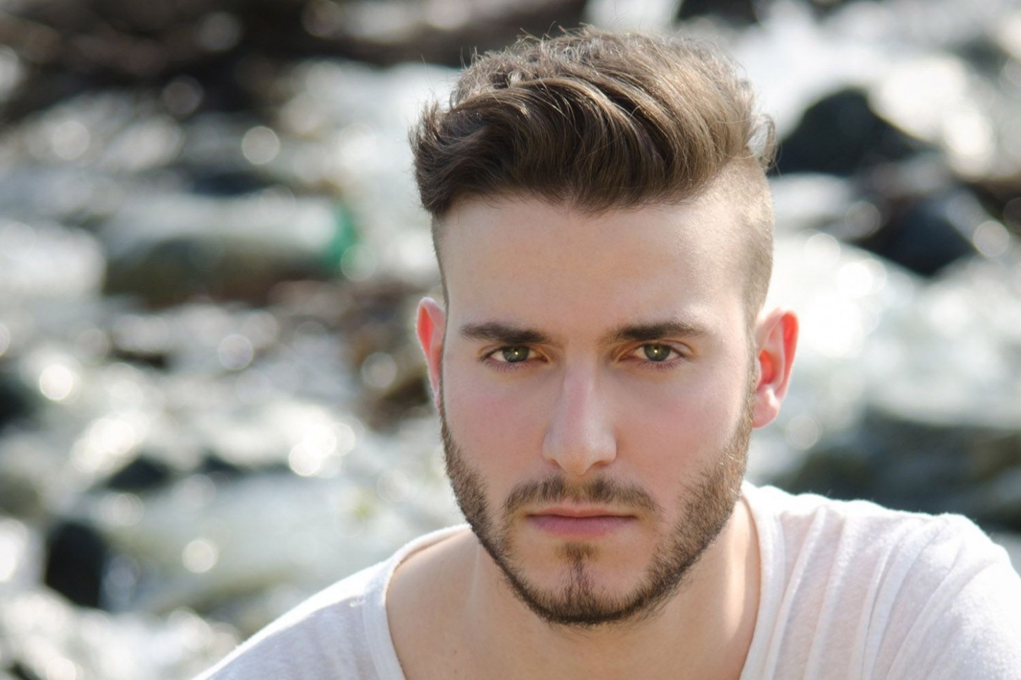 12 Men's Haircuts With Short Sides and a Long Top  Stylish mens