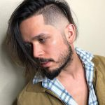 12 Modern Long Hairstyles For Men One Side Long Haircut