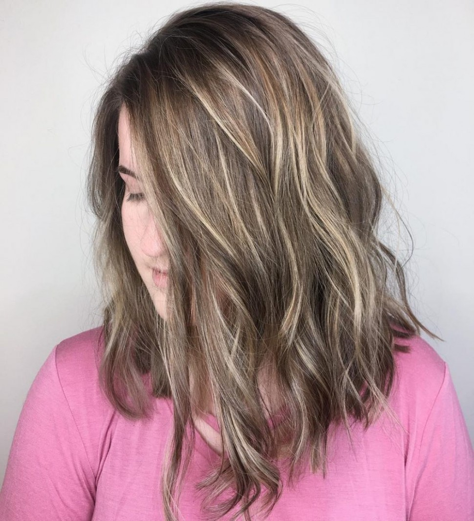 12 Most Flattering Bob Haircuts For Round Faces Long Bob Haircut For Round Face