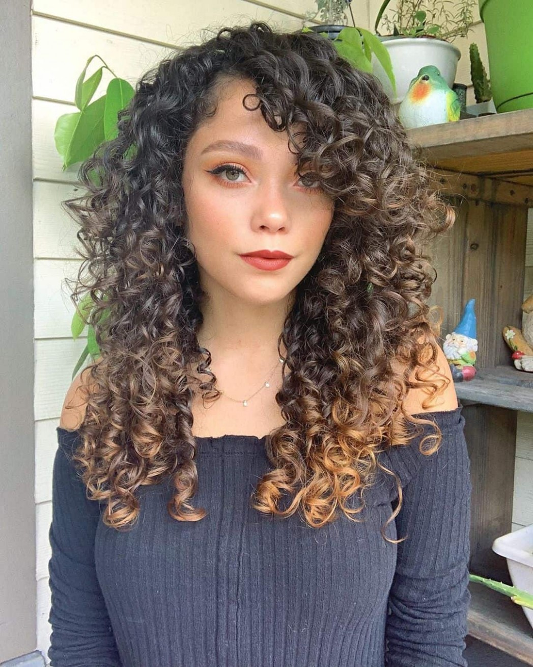 12 Perfectly Flattering Long Hairstyles With Bangs StylesRant Curly Side Bangs