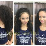 12 Quick And Simple Ways To Style Curly Hair! Sayria Jade Ways To Style Curly Hair