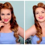 12's / 12's Pinup Hair And Makeup 1950S Long Hairstyles