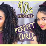 12's Hairstyles With Perfect Heatless Ringlet Curls Ft