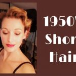 12's Short Hairstyle Using A Roller Set 1950S Hairstyles For Short Hair