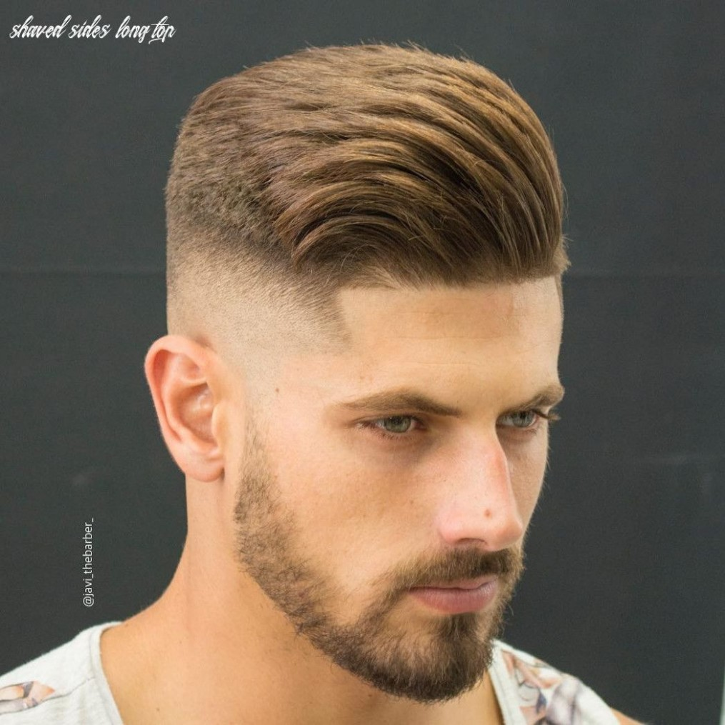 12 Shaved Sides Long Top In 12 Mens Haircuts Short, Cool Short Mens Haircut Shaved Sides Long Top