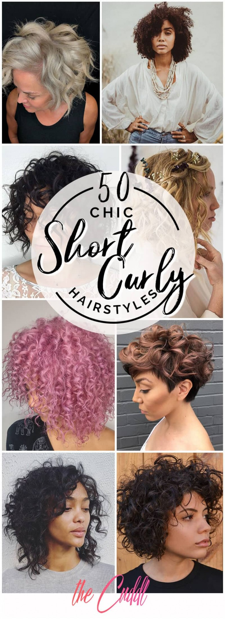 12 Short Curly Hair Ideas to Step Up Your Style Game in 12