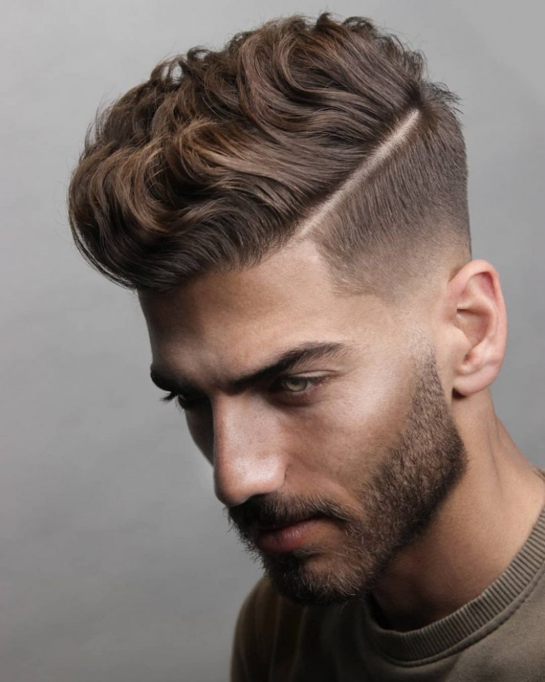 12 Short On Sides Long On Top Haircuts For Men Man Haircuts Shaved On Sides Long On Top