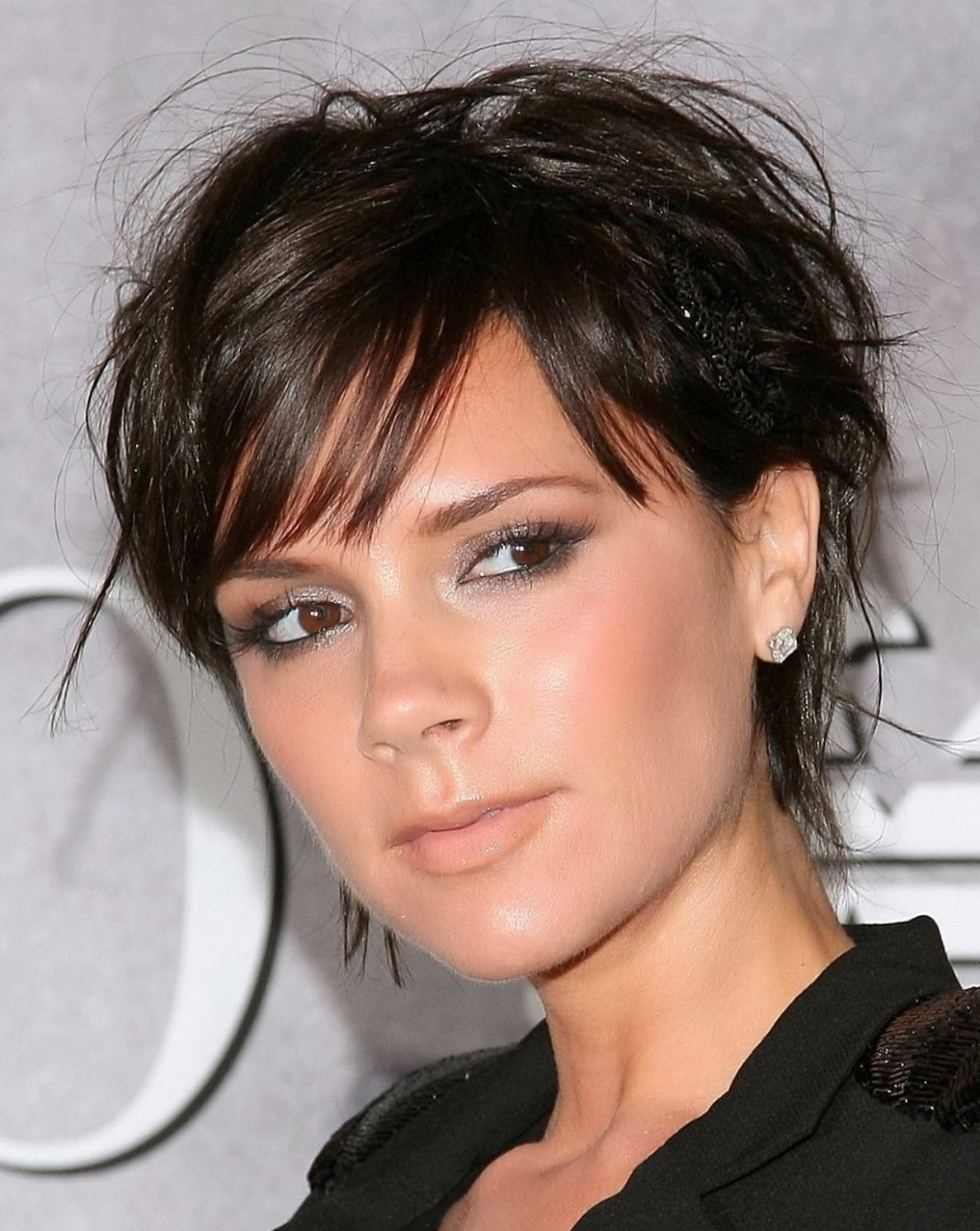 12 Short To Medium Hairstyles For 12 Fave HairStyles Victoria Beckham Pixie Cut