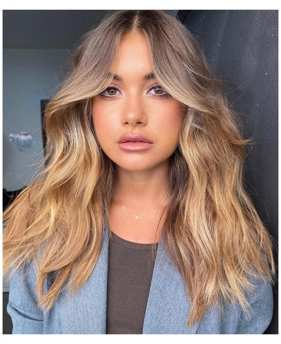 12 Slimming Hairstyles For Round Faces #haircut #for #long #hair Face Slimming Haircuts