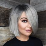 12 Stylish And Sassy Bobs For Round Faces Bob Hairstyles For Hairstyles For Grey Hair Round Face