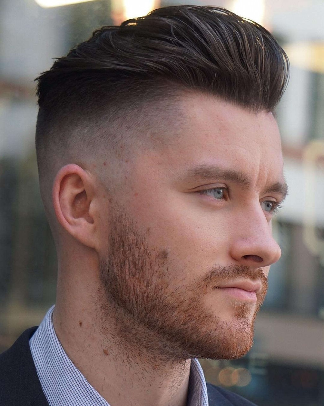 12 Stylish Undercut Hairstyle Variations To Copy In 12: A Short Undercut Men