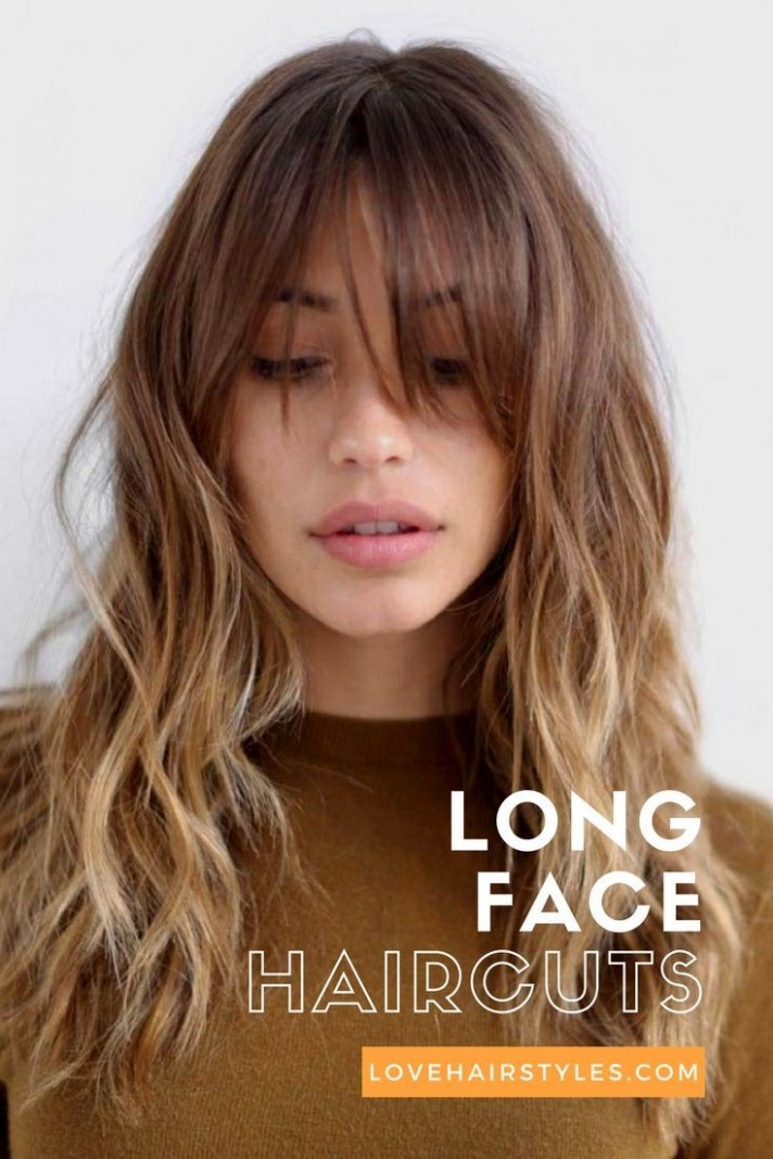 12 Trendy Hairstyles For Long Faces LoveHairStyles