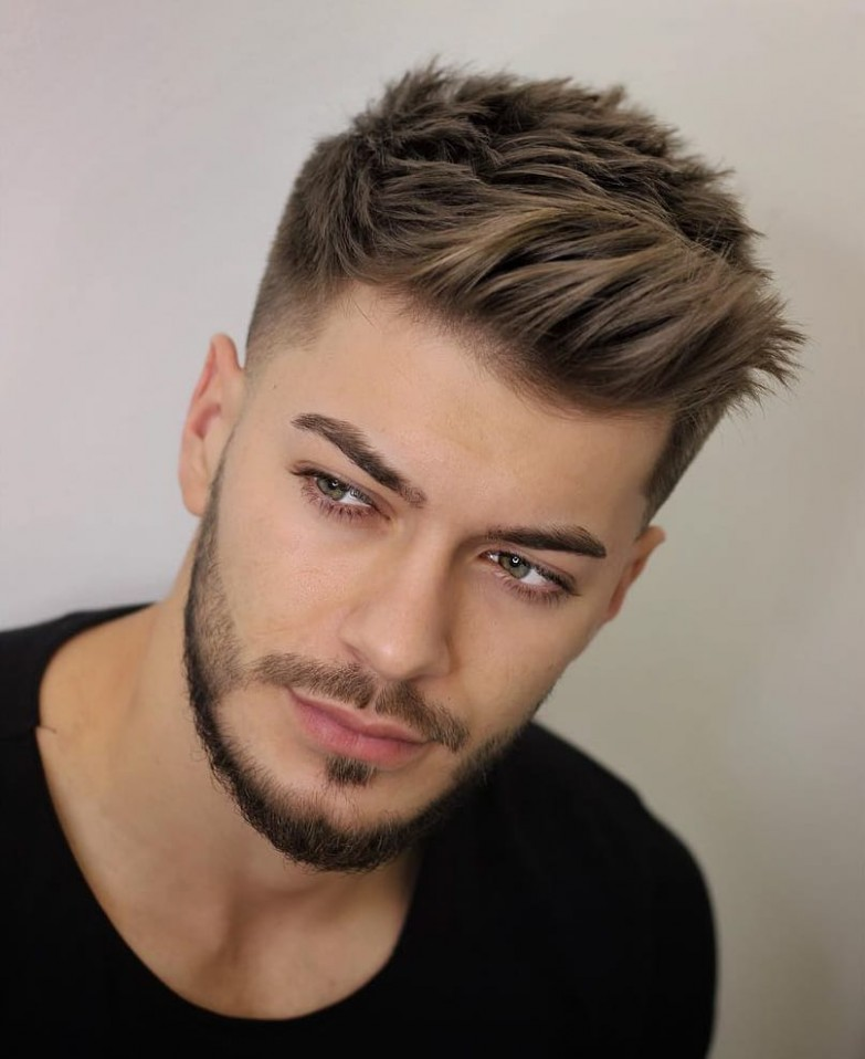 12 Unique Short Hairstyles For Men Styling Tips Short Haircuts For Men