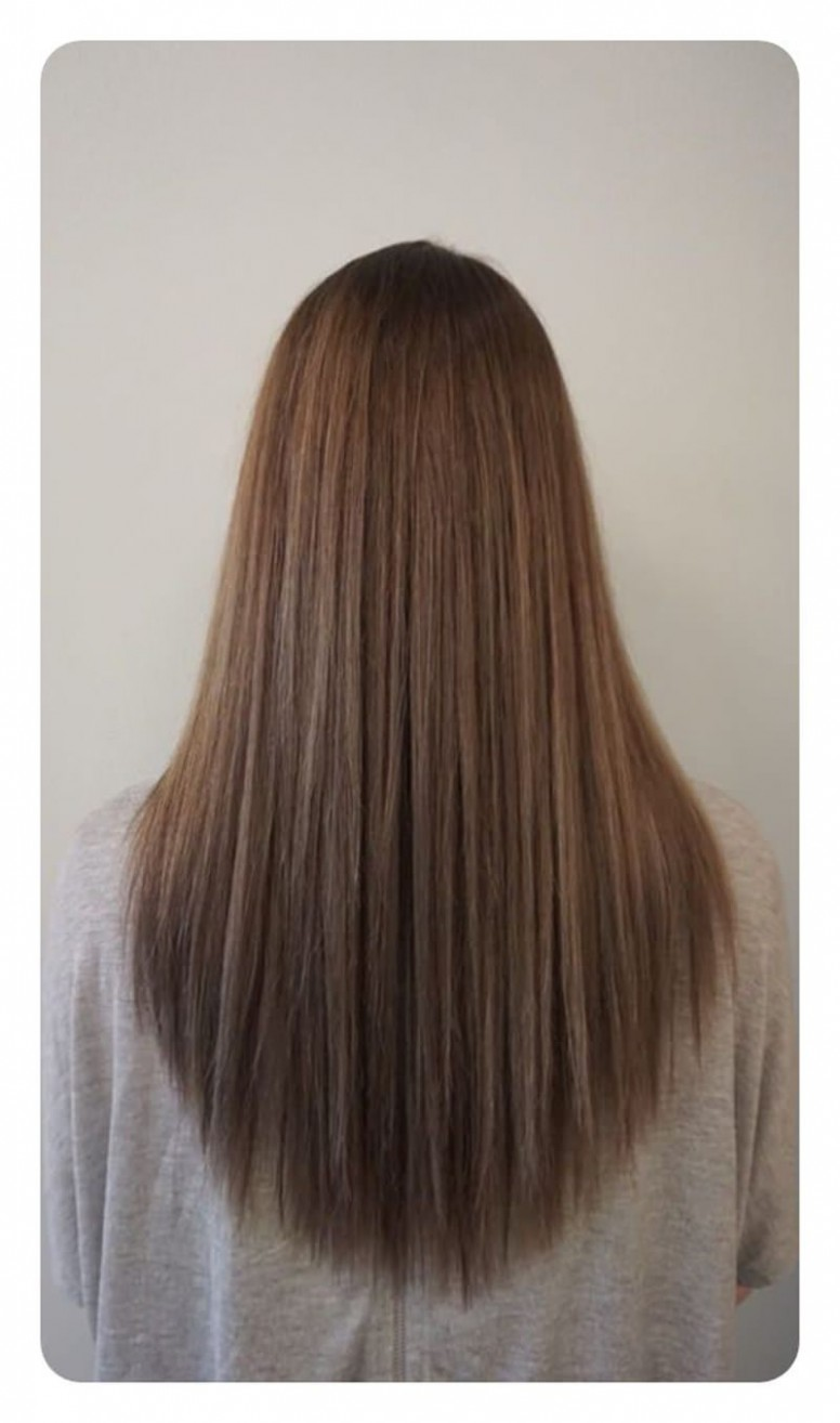 12 V Cut And U Cut Hairstyles To Encourage You To Cut Your Hair U Cut For Long Hair