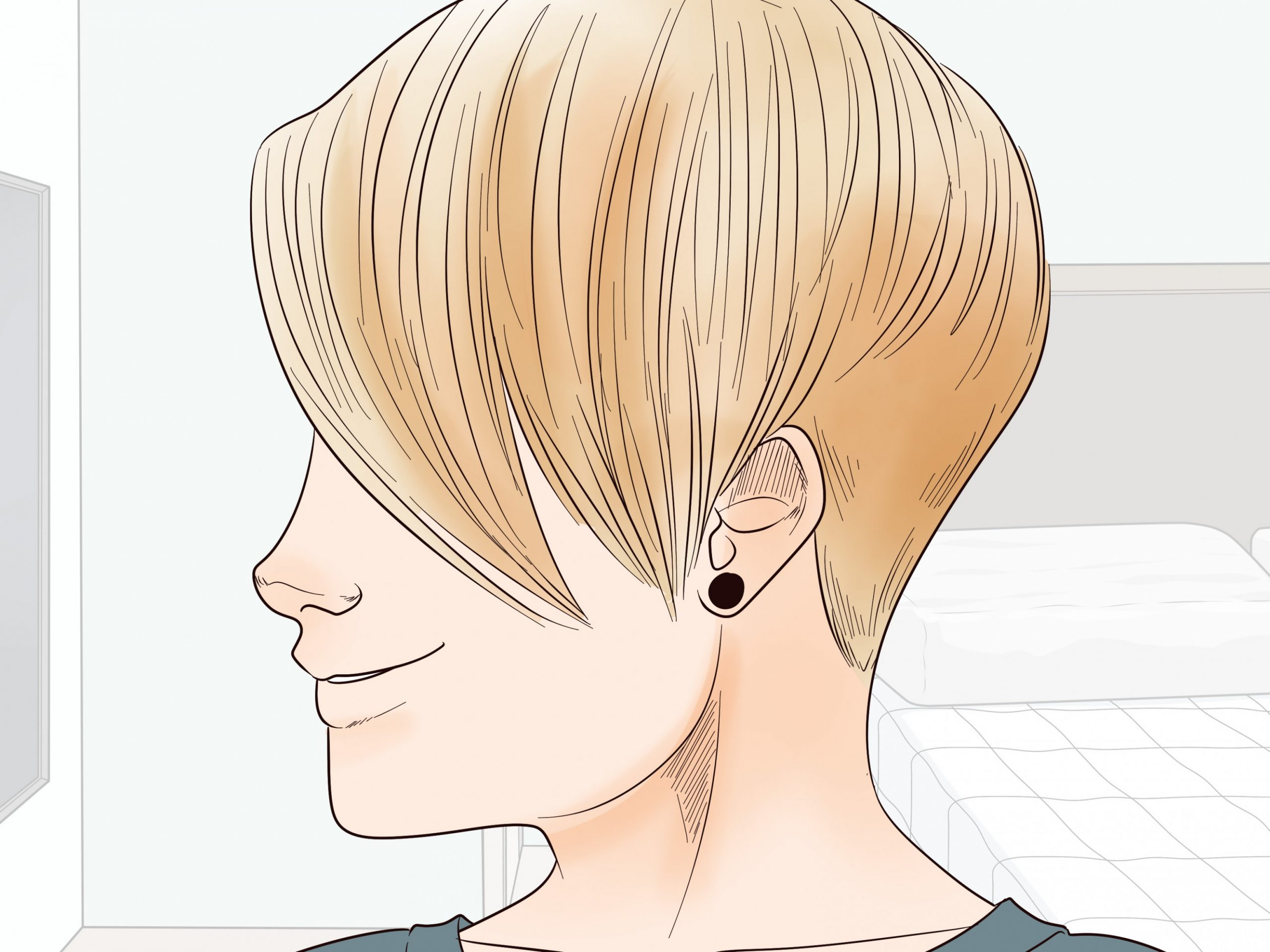 12 Ways To Grow Out A Pixie Cut WikiHow Growing Out A Pixie Cut Fine Hair