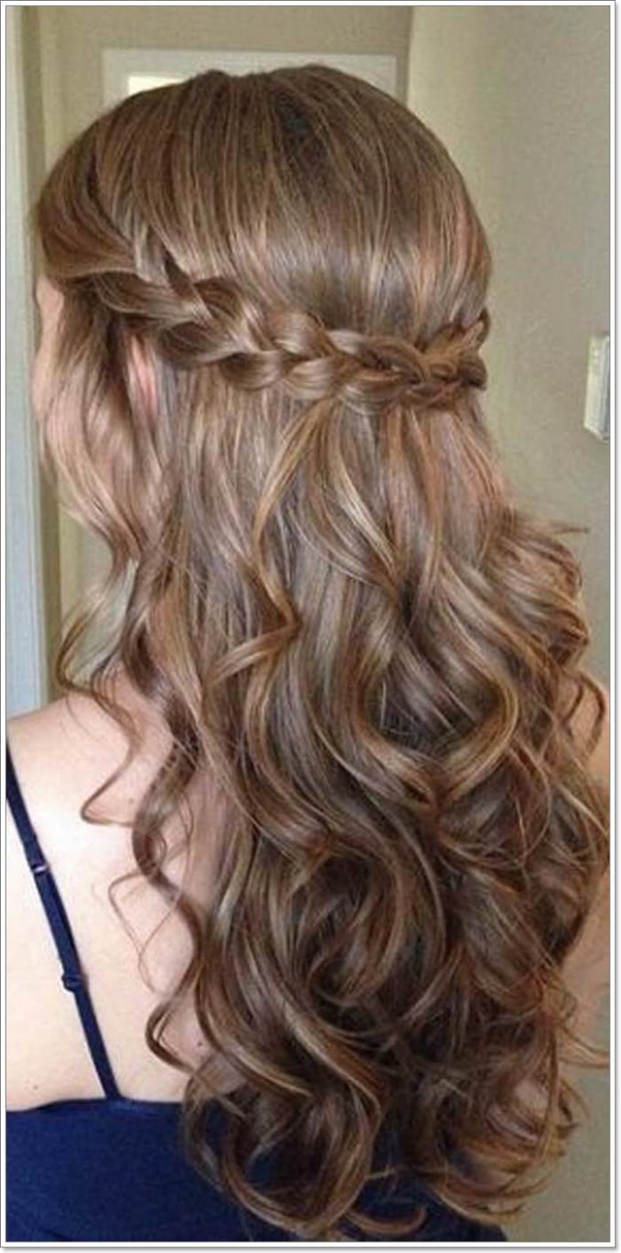 12 Whimsical Half Up Half Down Hairstyles You Can Wear for All