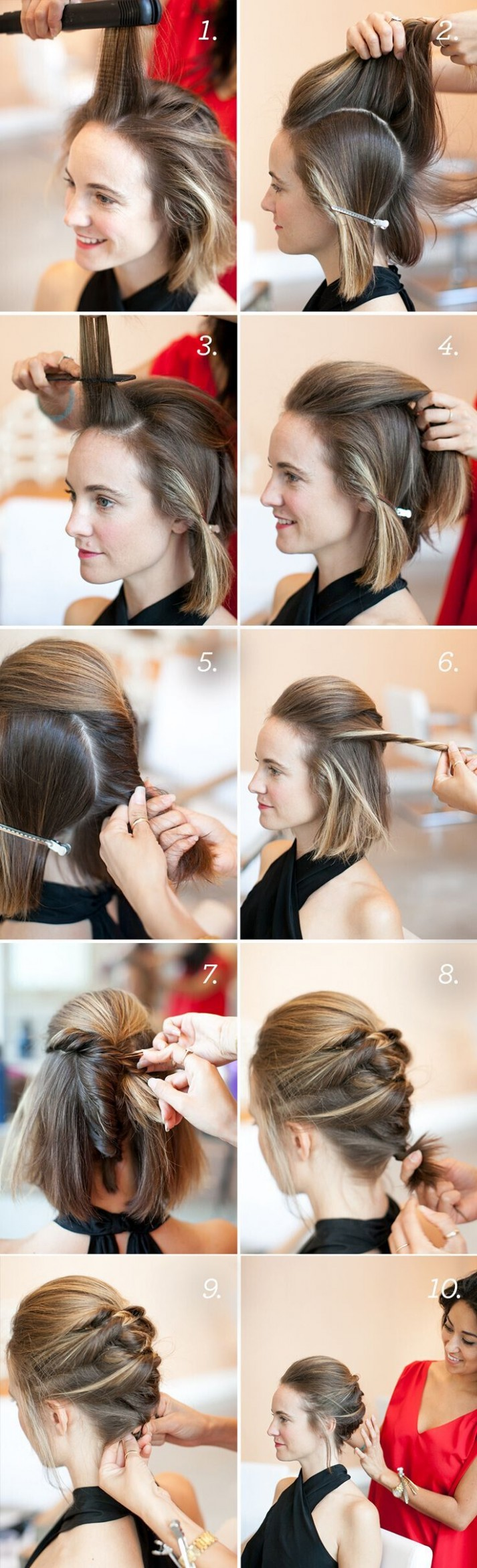 122 Short Hairstyles For Girls: With Or Without Curls! (12 Bob Hair Updo