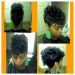 12pc Mohawk Mohawk Hairstyles, 12 Piece Hairstyles, Hair Styles Short Mohawk Hairstyles With Weave
