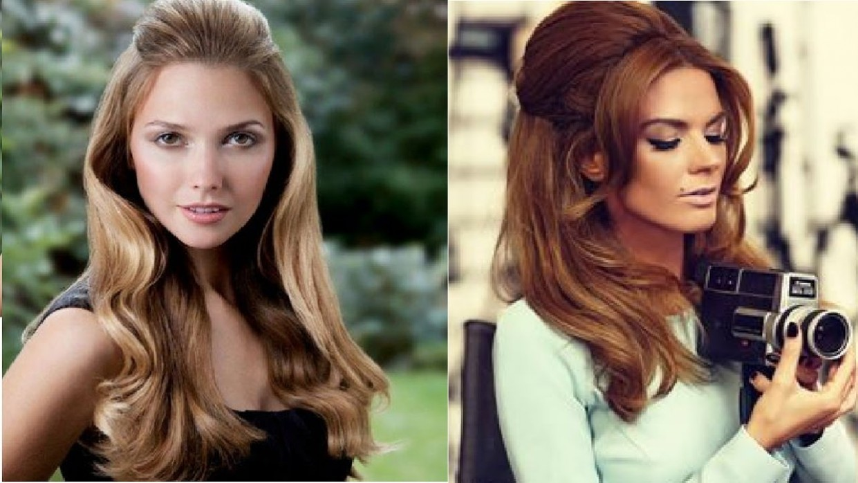 12s Hairstyle For Long Hair 70S Long Hair