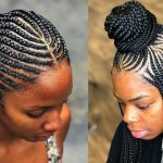 8 African Braids Hairstyles For Beautiful Round Face Braids For Round Faces