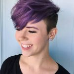 8 Alluring Short Purple Hair Ideas Too Stunning To Ignore Dyed Pixie Cut