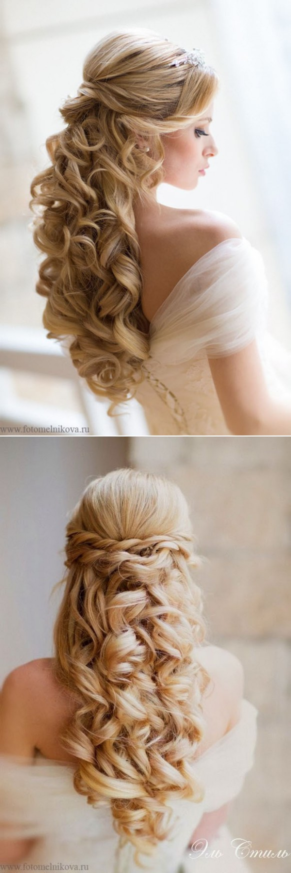8 Awesome Half Up Half Down Wedding Hairstyle Ideas Curly Wedding Hairstyles Half Up Half Down