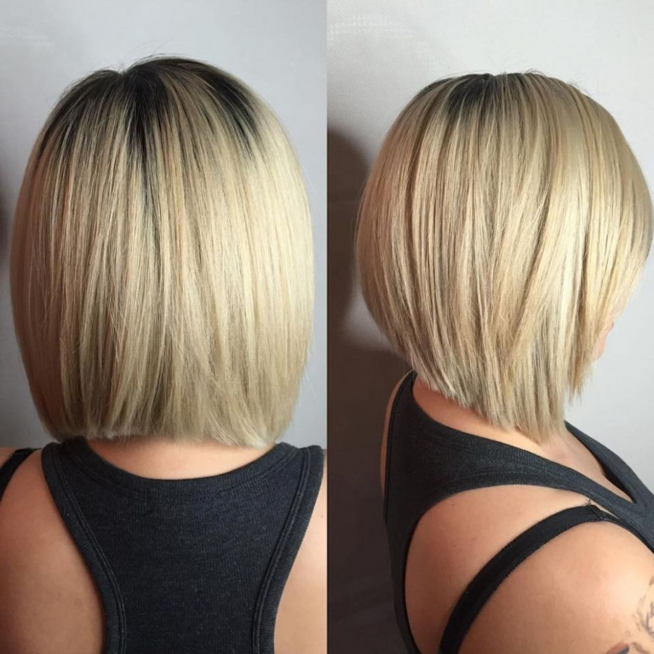 8 Beautiful And Convenient Medium Bob Hairstyles In 8 Angled Angled Haircuts