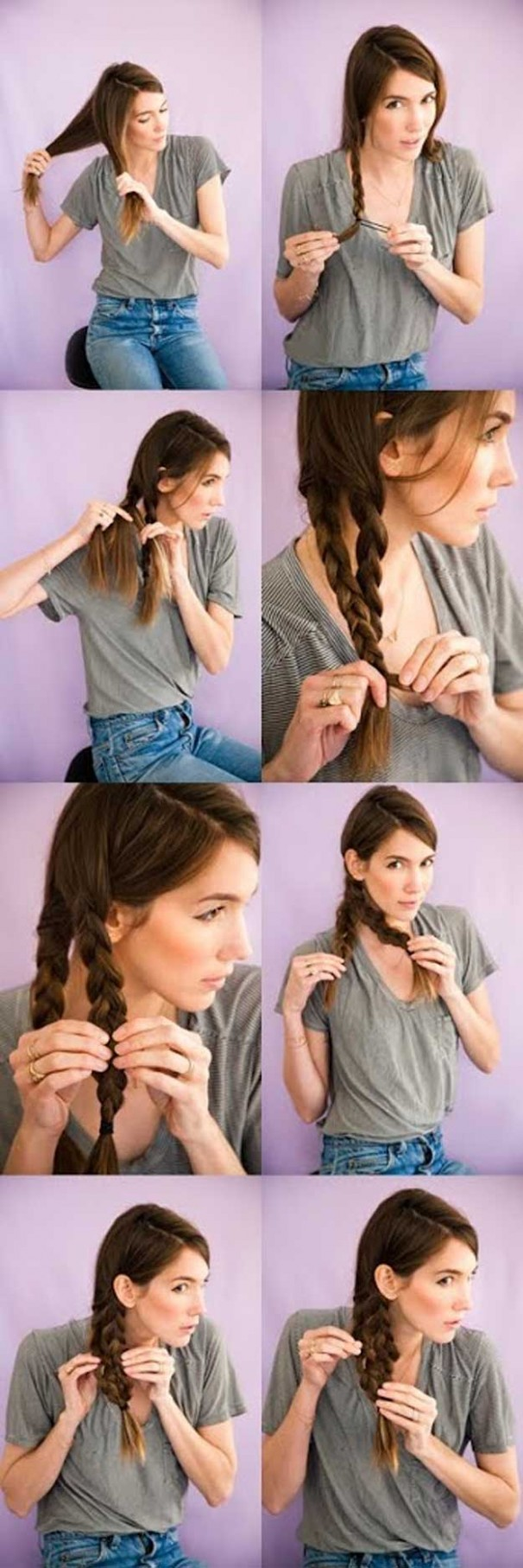 8 Best 8 Minute Hairstyles - The Goddess