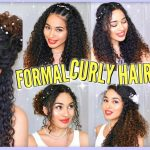 8 Best Curly Hairstyles For Prom, Graduation, Formals & Weddings! Naturally Curly Formal Hairstyles For Curly Hair