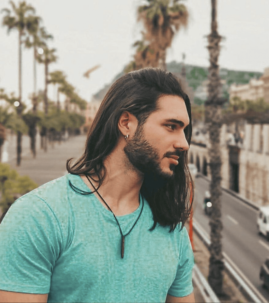 8 Best Long Hairstyles For Men [8 Guide] Beard And Long Hair Style