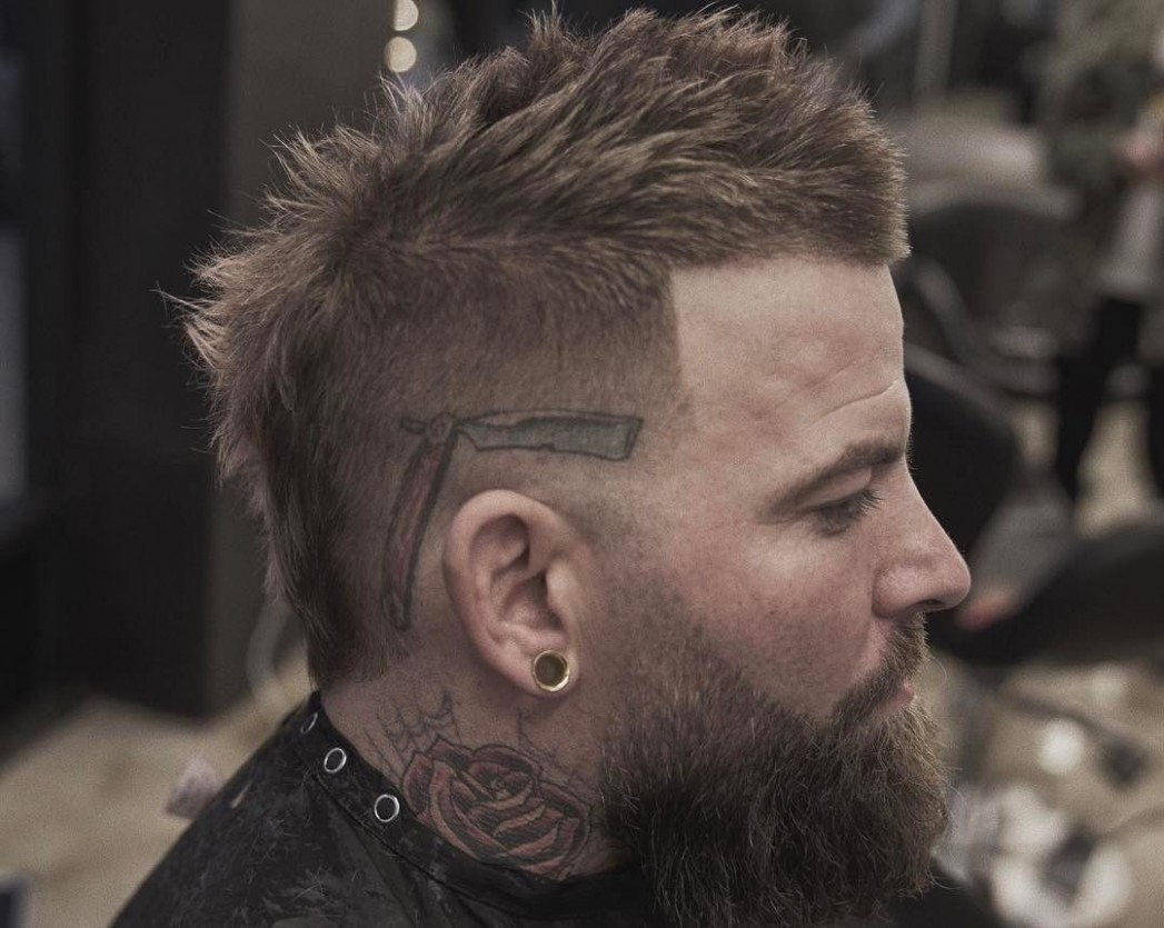 8 Best Mohawk Fade Haircuts For Men That Are Totally Cool Mens Short Mohawk