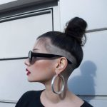 8 Bold Shaved Hairstyles For Women Shaved Hair Designs Long Hair Short Sides Female