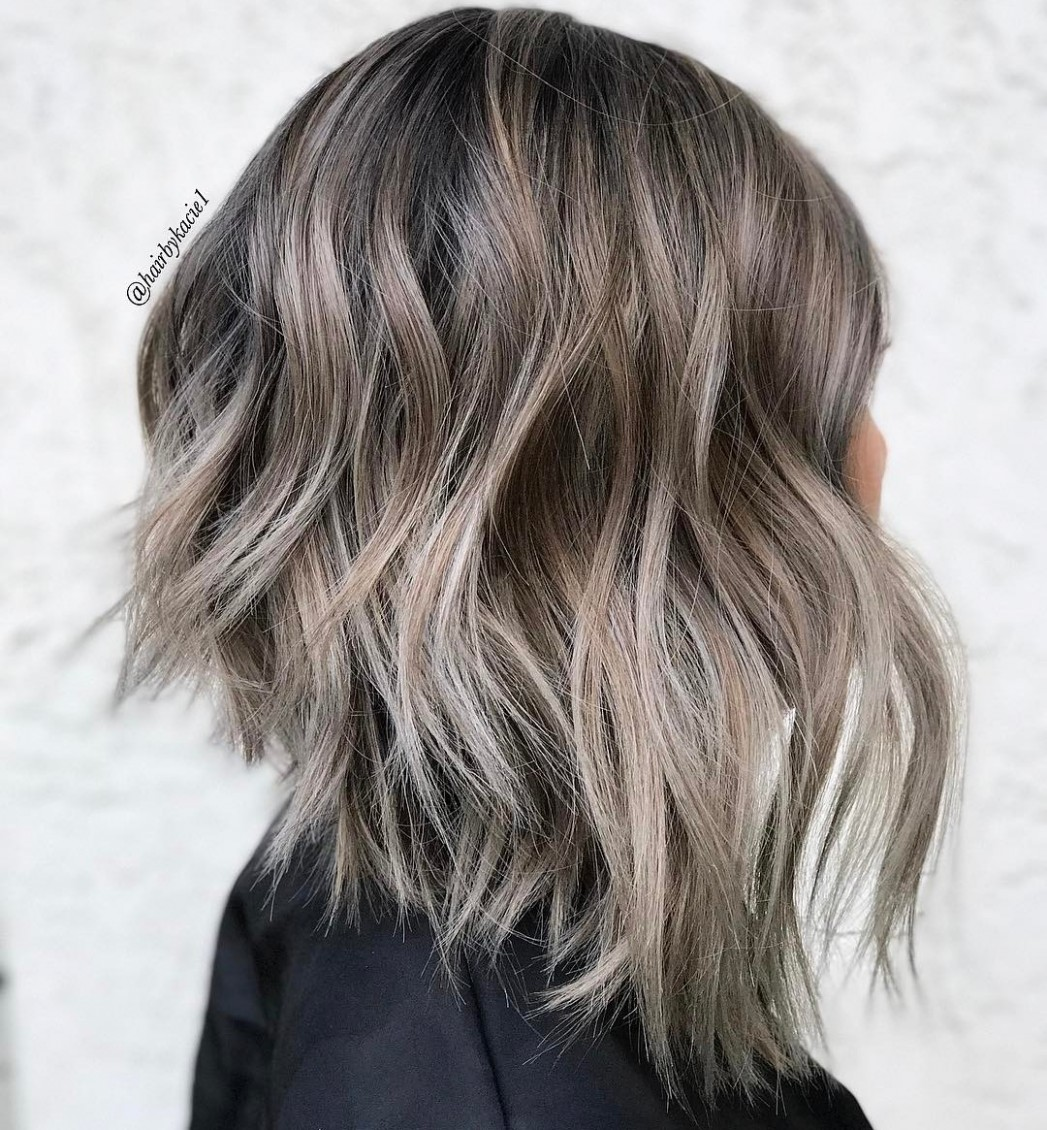 8 Chic Long Inverted Bobs To Inspire Your 88 Makeover Inverted Lob Haircut