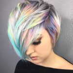 8 Chic Pixie Haircuts 8: Easy Short Hairstyle Dyed Pixie Cut
