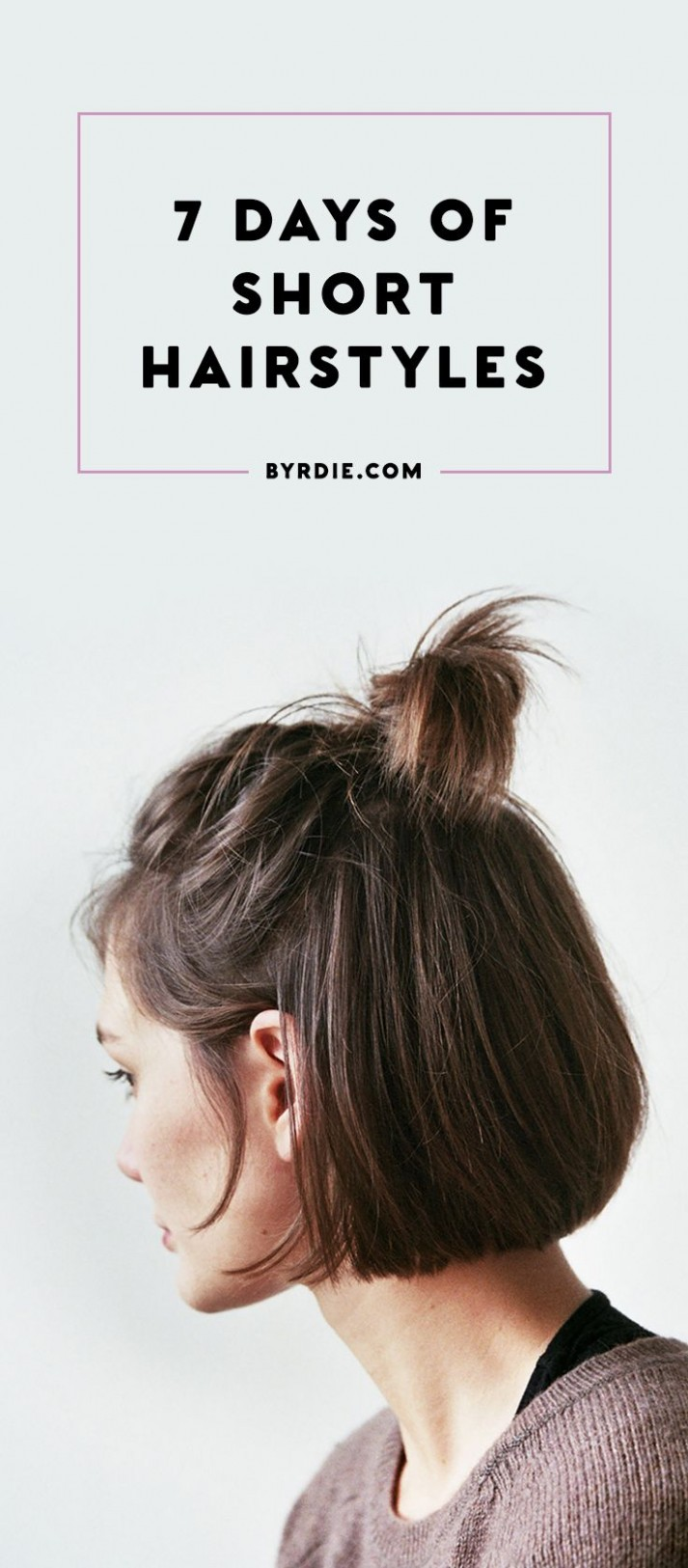 8 Chic Ways To Style Short Hair Short Hair Styles Easy, Short Everyday Hairstyles For Short Hair