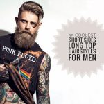 8 Coolest Short Sides Long Top Hairstyles For Men Men Buzzed Sides Long Top