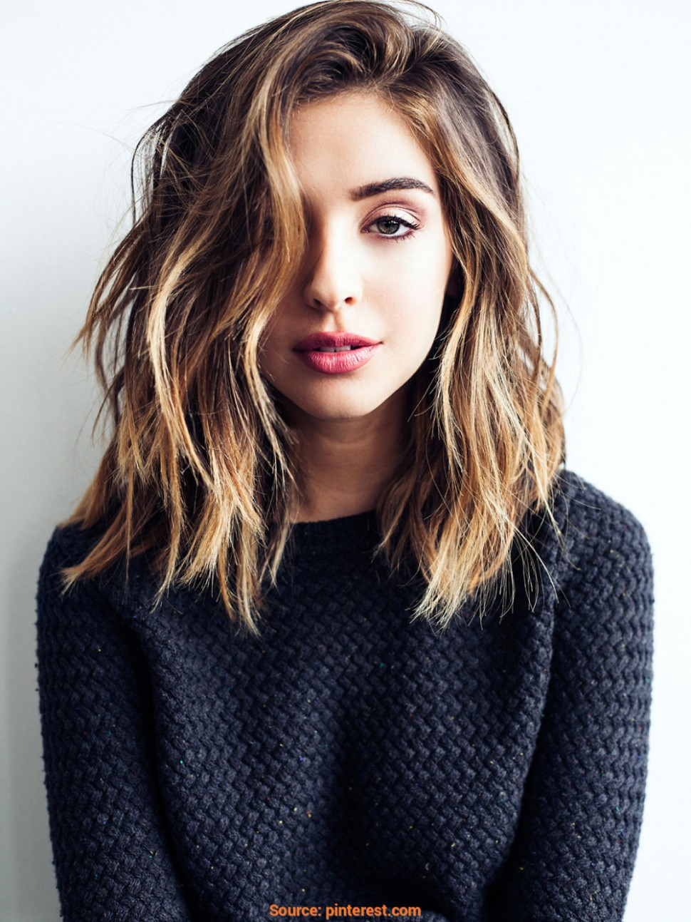 8 Cute & Easy Hairstyles For Shoulder Length Hair Short But Long Haircuts