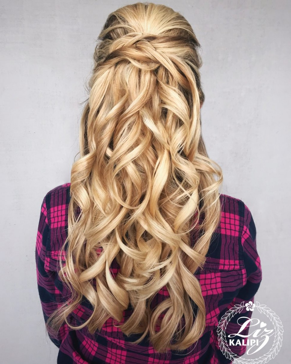8 Cute & Easy Prom Hairstyles For Long Hair For 8 Long Hair Formal Styles