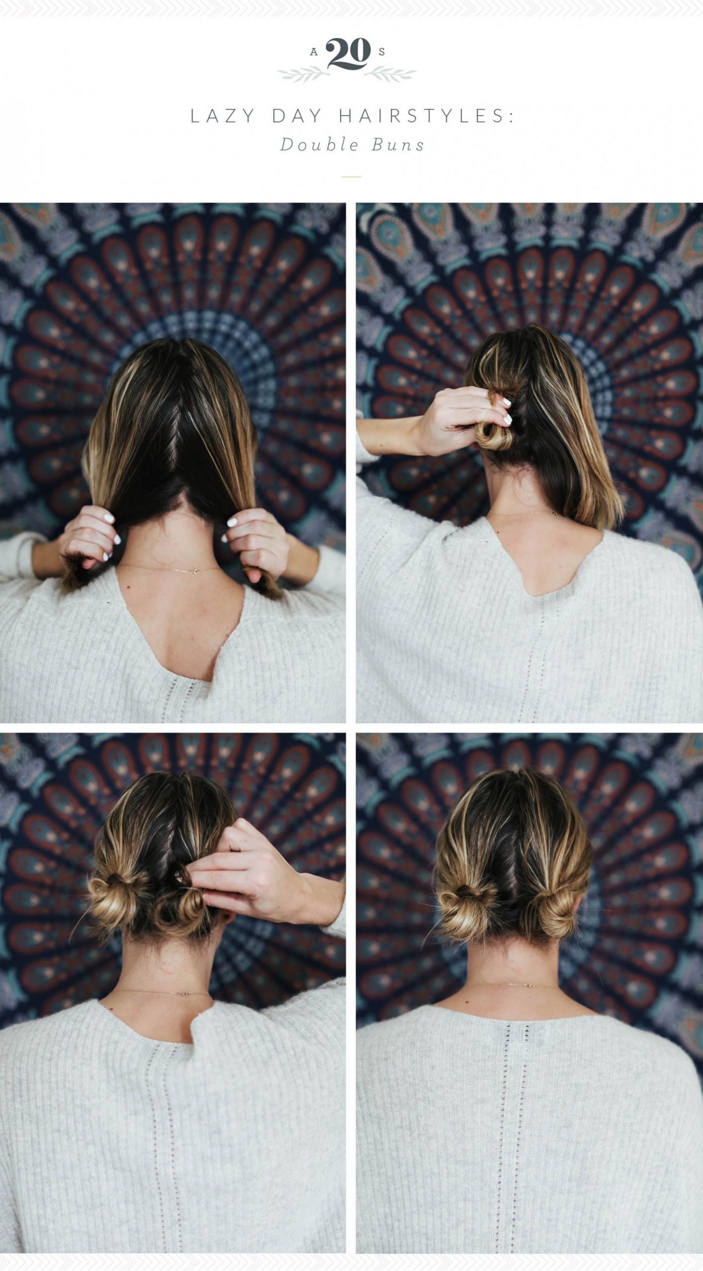 8 Easy Hairstyles For Lazy Days Cute Lazy Hairstyles, Lazy Girl Lazy Hairstyles For Short Hair