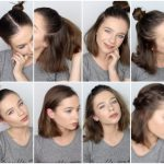 8 EASY HAIRSTYLES FOR SHORT HAIR ♡ Good Hairstyles For Short Hair