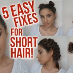 8 Easy Hairstyles For Short Hair // NO HEAT // Lazy Day, Running Late Hair Fixes! Lazy Hairstyles For Short Hair