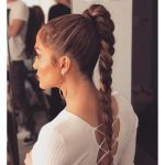 8 Fresh Ways To Wear A Ponytail This Summer High Ponytail Long High Ponytail
