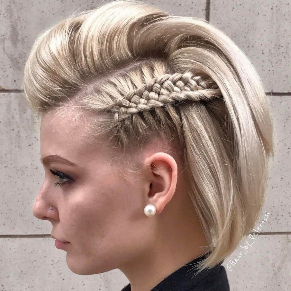 8 Hottest Prom Hairstyles For Short Hair Prom Hairstyles For Side Braid Short Hair