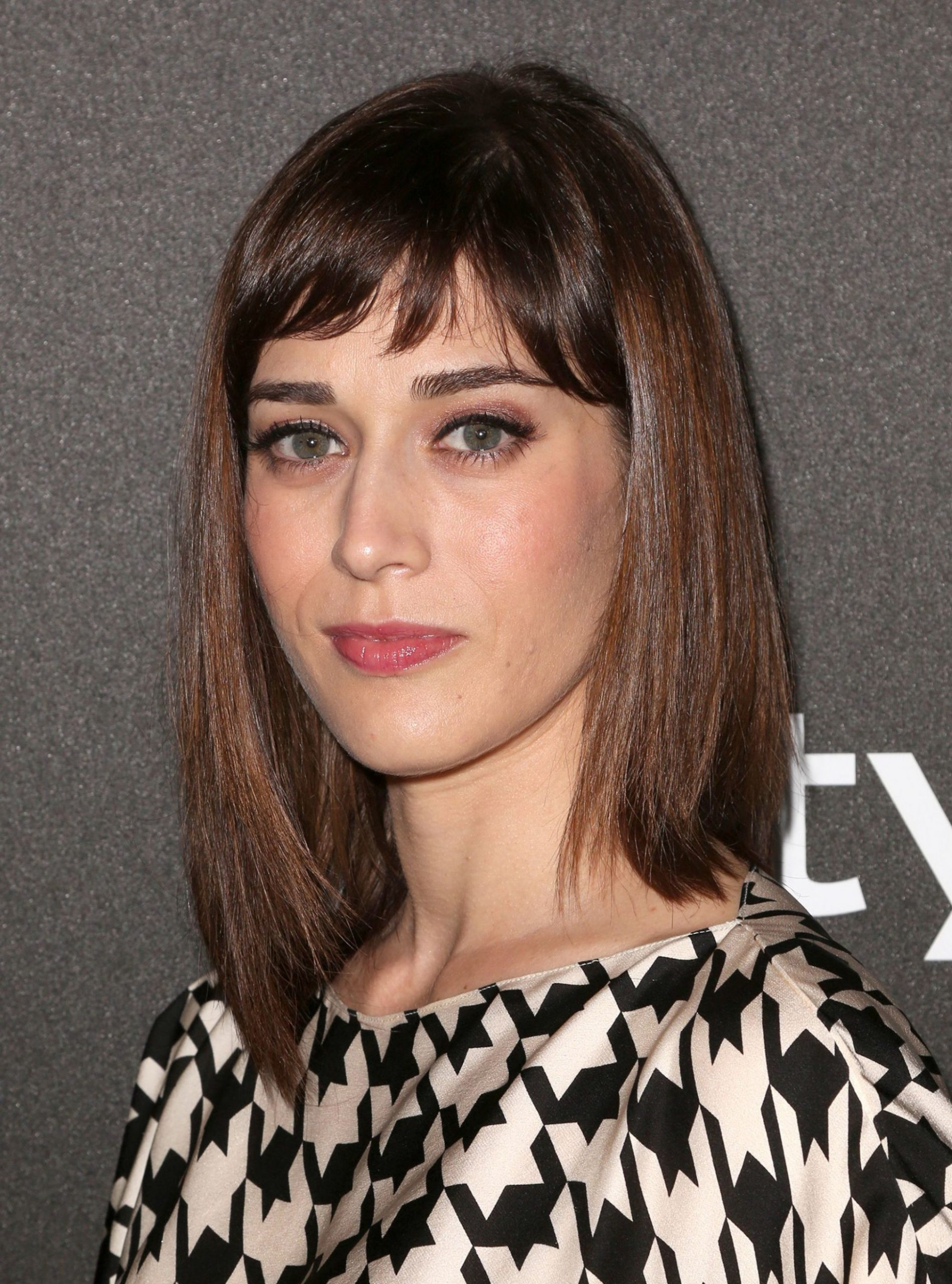 8 Long Bob With Bangs Hairstyles For 8 Straight Lob With Bangs
